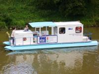 Výroba lodí model Hausbót