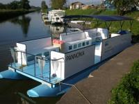 Výroba lodí model Pannonia